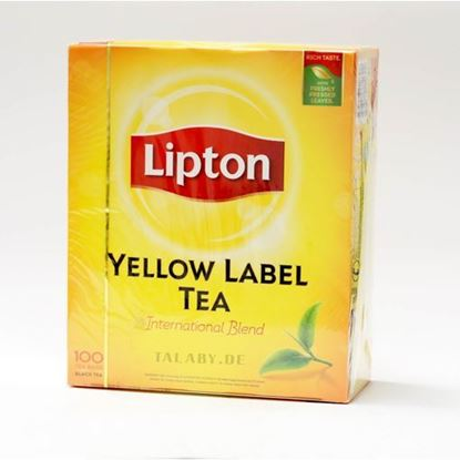 Picture of Lipton Yellow Label, 100 Tea Bags